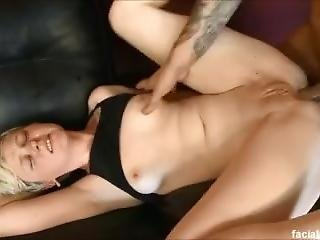 Krys Foxy Just Turned 18, Gets Throat And Ass Pounded