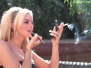 Gemma Hiles Smoking And Makeup