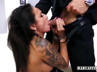 Latina Angel Natalia Mendez Rides Good