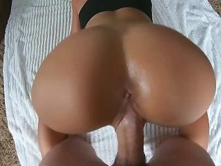 Big Teen Ass Get Fucked By Huge Fat Cock - Homemade