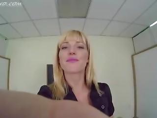 bonasse, blonde, fétiche, pov, solo, professeur
