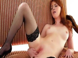 Emma Stone Strips And Plays With Herself