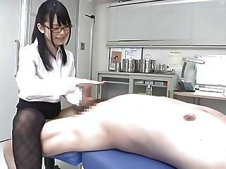 Clinic, Handjob, Japanese