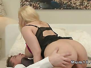 Huge Tittied Hairy Milf Banged