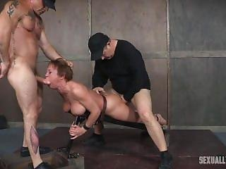 Darling- Leather Bound And Fucked