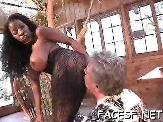 Black Chick Gets Ass Licked