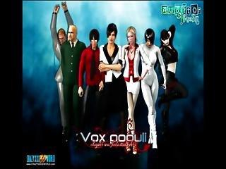 3d Comic Vox Populi 1-3
