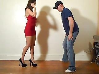 Babe Disables Male Easily Through His Balls