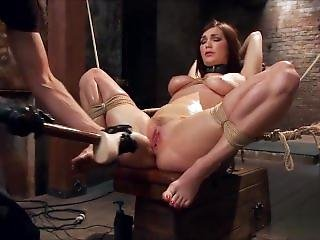 Holly Michaels Pushed To Her Limits