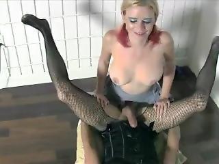 Sadie Holmes And Vanessa Vixon Pantyhose Strap On Pegging Leotards