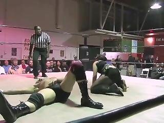 Intergender Pro Wrestling Match
