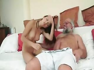 Old Man Samples A Young Cutie   Watch Pt 2 At Mylocalcamgirls.com