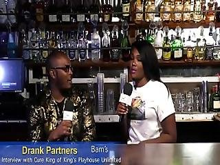 King Cure Of King S Playhouse Unlimited Gets Interviewed By Bam Of Drank Partners