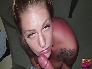 Big Tit Milf Hotwife Blows Stranger In Adult Theater