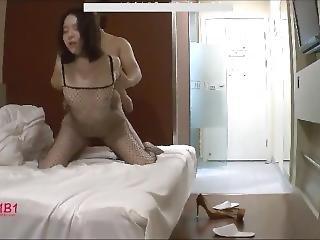 amatør, asiatisk, brunette, kinesisk, fiskenett, hardcore, prostiuert, Tenåring