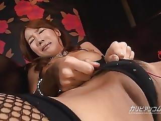 Asiatique, Pipe, Chaude, Japonaise, Lingerie, Chatte, Sexe, Jouets, Mouillée