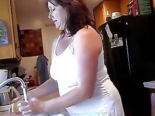 Hot Chubby Milf Shows Off Her Delicious Hairy Cunt