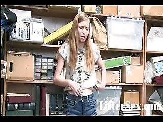 Cute Blonde Teen Fucked By Lp Officer - Liftersex.com