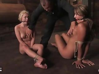 Trina & Samantha In Bondage Escape Challenge