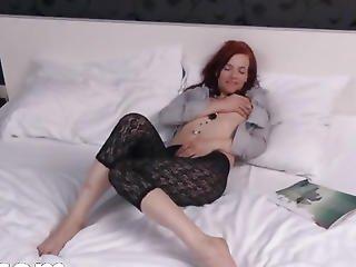 Estonian Model Leila Gaping Gyno Hole