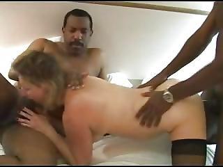 Curvy Mature Wife Gangbanged By Blacks