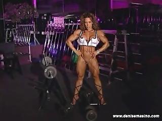 Denise Masino Gym Heat2 Denise Pumped