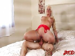 Holly Heart   Hot Blonde Gets Her Hands On Cock