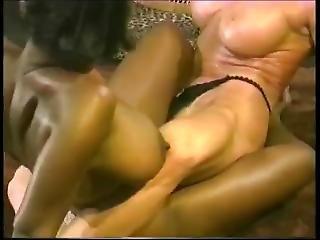 chick, kattengevecht, ebbehout kleur sex, fetish, interraciale, lesbisch, volwassen, milf, ruw, sex