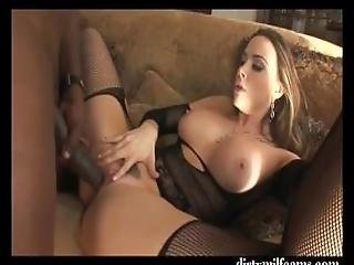 Amazing Milf In Stockings Sloppy Blowjob And Fuck By Bbc   Part 1