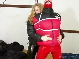 Puffy Jacket Slave 1