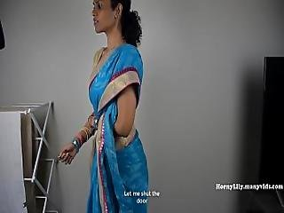South Indian Mother Lets Her Son Jerk Off Then Fuck Her Tamil