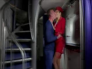 Elena Koshka A Caring Stewardess