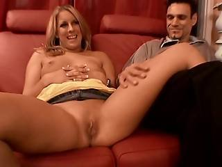 Mature Blonde Wife Agrees With Husbands Idea