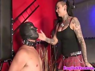 Mistress Humiliates Pathetic Sub