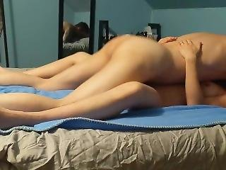 Amateur Couple - He Fucks Me Missionary And Then Cums In Me Doggystyle