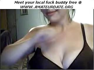 Amateur Mature Milf Webcam Brunette Flashes And Big Tits Boobs Homemade