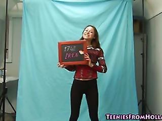 Hot Assed Teen Posing