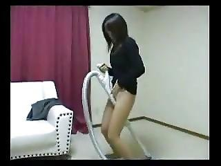 Asian Grinding On Objects