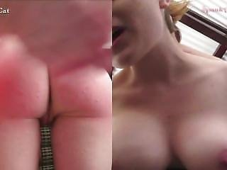 Crystal Cat Stripping Spanking