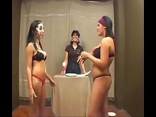 Brazilian Pie Humiliation