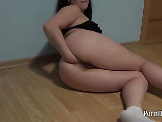 Anal Fisting Young Brunette