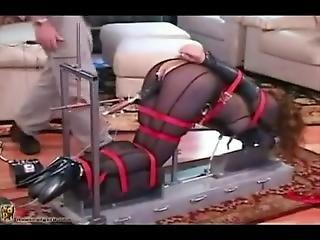 Petra Tied On The Fucking Machine
