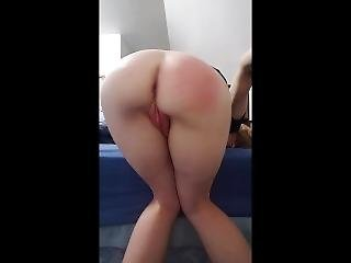 Requested, So Naughty, Giving Myself A Brutal Spanking With Assplay