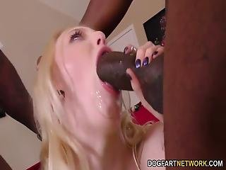 Petite Lily Rader Does Gangbang With Bbc