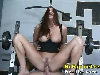 Fuck Milf In Gym
