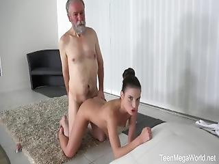 Teenmegaworld   Old N Young   Old Man Cums Into A Fresh Mouth