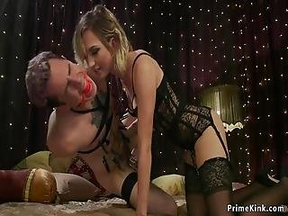 excellent and bdsm woman lick penis slowly accept. The theme interesting