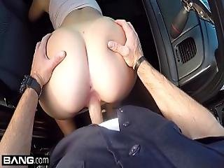 Screw The Cops - Naughty Thick White Girl Has Sex In A Cop Car