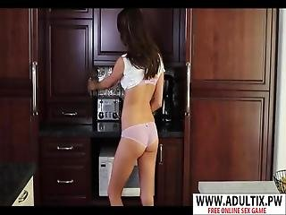 Lovely Stepmom Holly Michaels Fuck Cool Teen Step Son
