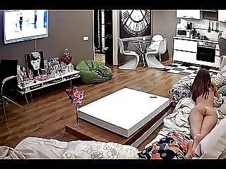 Leora Naked In Her Apartment 2015 08 17 Part 1of3